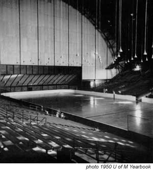 1950 Williams Arena rink