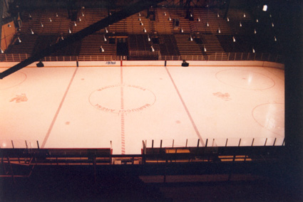 old mariucci center ice